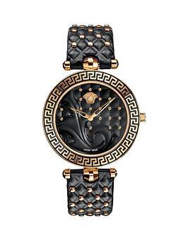 versace-versace-vanitas-black-dial-black-leather-strap-ladies-watch