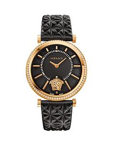 versace-versace-helix-black-dial-black-leather-strap-ladies-watch