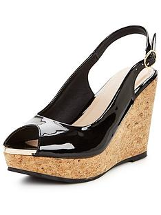 v-by-very-verity-slingback-wedge-with-gold-tipping-black