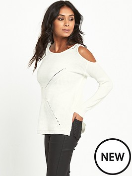miss-selfridge-miss-selfridge-cold-shoulder-slouch-jumper
