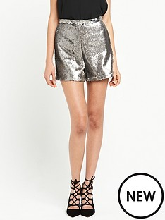 river-island-sequin-shorts