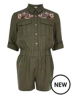river-island-girls-khaki-embroidered-jumpsuit