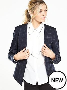 v-by-very-check-ponte-edge-to-edge-blazer