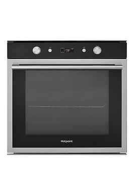 hotpoint-si6864shix-built-in-60cm-electric-single-oven-blackstainless-steel