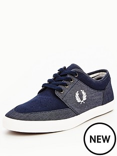 fred-perry-stratford-chambray-plimsoll