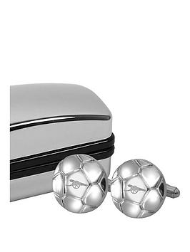 arsenal-football-shaped-cufflinks