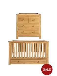 mamas-papas-osborne-cot-bed-amp-dresser-set