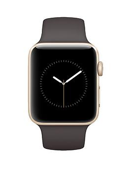 apple-apple-watch-series-1-42mm-gold-aluminium-case-with-cocoa-sport-band