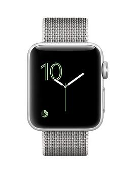 apple-apple-watch-series-2-38mm-silver-aluminium-case-with-pearl-woven-nylon-band