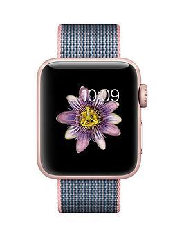 apple-apple-watch-series-2-38mm-rose-gold-aluminium-case-with-light-pinkmidnight-blue-woven-nylon-band