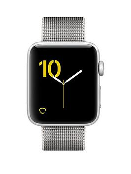 apple-apple-watch-series-2-42mm-silver-aluminium-case-with-pearl-woven-nylon-band