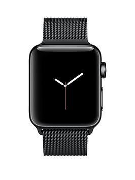 apple-apple-watch-series-2-38mm-space-black-stainless-steel-case-with-space-black-milanese-loop
