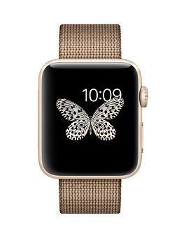 apple-apple-watch-series-2-42mm-gold-aluminium-case-with-toasted-coffeecaramel-woven-nylon-band