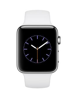 apple-apple-watch-series-2-42mm-stainless-steel-case-with-white-sport-band