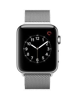 apple-apple-watch-series-2-42mm-stainless-steel-case-with-silver-milanese-loop