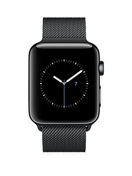 apple-apple-watch-series-2-42mm-space-black-stainless-steel-case-with-space-black-milanese-loop