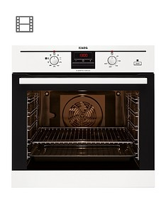 aeg-be300362kw-built-in-electric-oven-with-steam-function-white