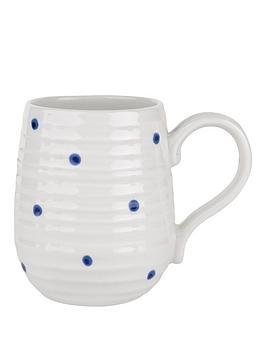 sophie-conran-for-portmeirion-beehive-mug-blue-spot-single