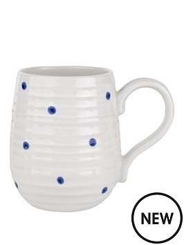 sophie-conran-for-portmeirion-beehive-mug-blue-spot-single
