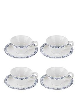 sophie-conran-for-portmeirion-tea-cup-and-saucer-set-of-4-betty-design
