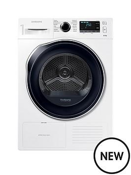 samsung-dv80k6010cweu-8kgnbspload-heat-pump-tumble-dryer-white