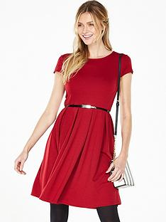 v-by-very-ponte-fit-and-flare-skater-dress