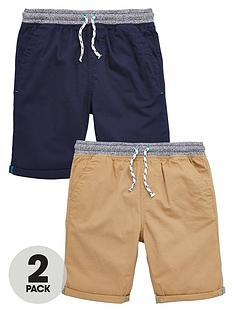 v-by-very-boys-woven-shorts-navytan-2-pack