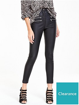 v-by-very-ella-high-waist-double-zip-coated-skinny-jeannbsp