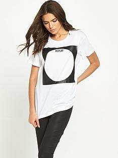 replay-branded-logo-tee