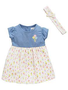 ladybird-baby-girls-ice-cream-dress-set-2-piece
