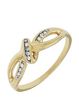 love-diamond-9ct-gold-diamond-set-twist-ring