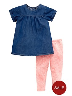 mini-v-by-very-girls-chambray-tunic-and-leggings-set