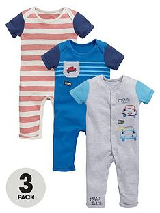 ladybird-baby-boys-3pk-ss-rompers