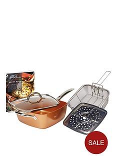copper-chef-non--stick-square-pan-5-piece