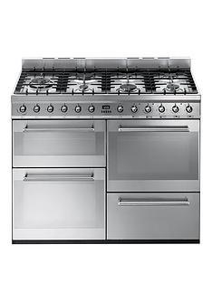 smeg-syd4110-110cm-symphony-dual-fuel-range-cooker