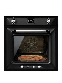 smeg-sf6922npze-60cm-built-in-single-electric-oven-black