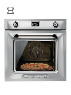 smeg-sf6922xpze-60cm-built-in-single-electric-oven-silver