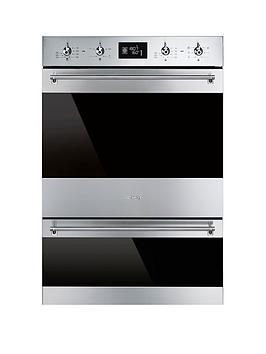 smeg-dosp6390x-60cm-built-in-classic-multifunction-double-oven