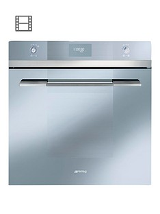 smeg-sfp109s-linea-60cm-built-in-pyrolitic-electric-oven-silver-glass
