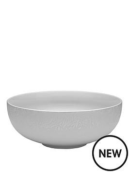 denby-monsoon-filigree-silver-serving-bowl
