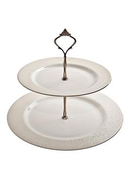 denby-monsoon-lucille-gold-cake-stand