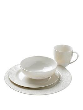 denby-monsoon-lucille-gold-16-piece-dinner-set