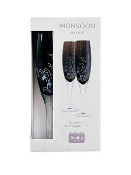 denby-monsoon-chrysanthemum-champagne-flute-pack-of-2