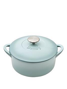 denby-pavilion-20cm-cast-iron-round-casserole-dish