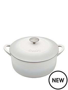denby-denby-natural-canvas-cast-iron-26cm-round-casserole