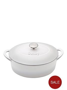 denby-natural-canvas-28cm-cast-iron-oval-casserole-dish