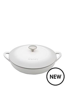 denby-denby-natural-canvas-cast-iron-30cm-shallow-casserole
