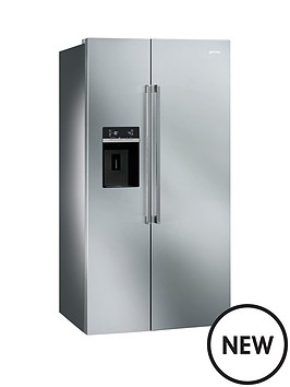 smeg-sbs63xed-american-style-2-door-no-frost-fridge-freezer-stainless-steel