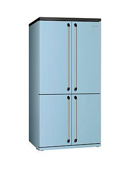 smeg-fq960pbnbspamerican-style-4-door-no-frost-fridge-freezer-pastel-blue