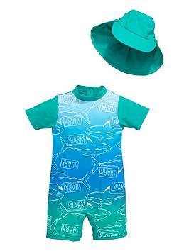 mini-v-by-very-toddler-boys-shark-ombre-sunsafe-amp-hat